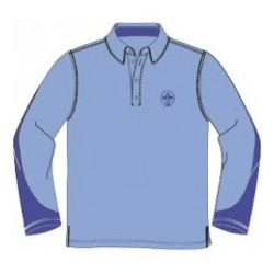 Polo uniforme scout manga...